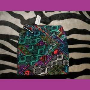 Windsor Colorful Pencil Skirt NWT